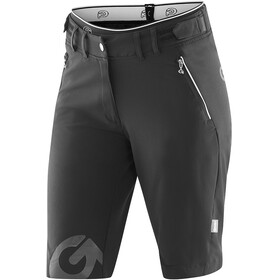 Gonso Sitivo Fahrradshorts Damen black/bright green